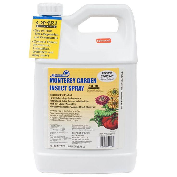 6 New Organic Garden Spray