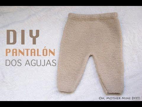 DIY Conjunto bebé parte 1: Cómo hacer pantalones de lana (patrones) | Manualidades