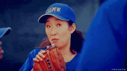 27 Reasons Why Cristina Yang Is Everything You Aspire To In Life: Booze in a baseball glove