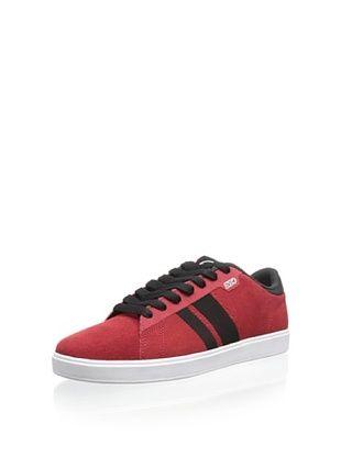 DVS Men's Halsted Skate Shoe (Red Suede HOL 13)