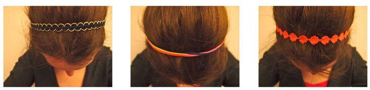 DIY : Headbands // Bandeaux faits maison  