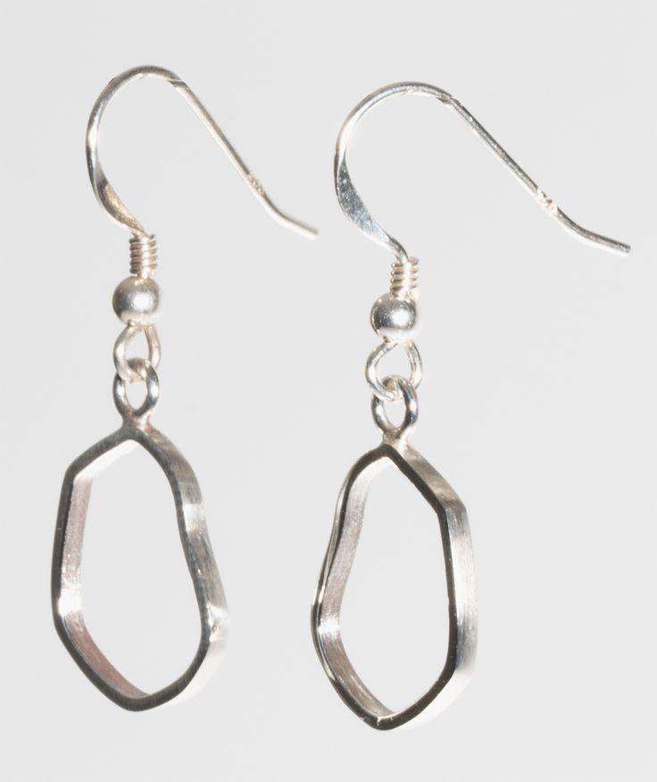 Kenno Collection #finnishdesign #silver #mirkalainedesign #earrings #muotoilu
