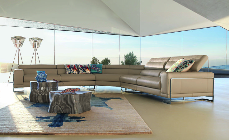 roche bobois theoreme modula sectional sofa design r tapinassi u m manzoni rochebobois sofa home livingroom interior design pinterest