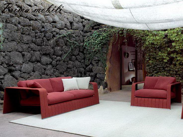 Итальянский садовый диван Frame Paola Lenti купить в Москве в Prima mobili