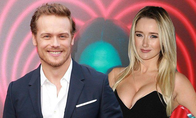 Outlander Star Sam Heughan Is Dating Twin Peaks Amy Shiels Amy
