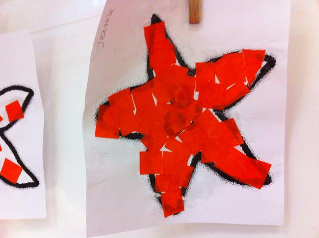 17 best images about petit poisson blanc on pinterest - Le petit poisson rouge maternelle ...