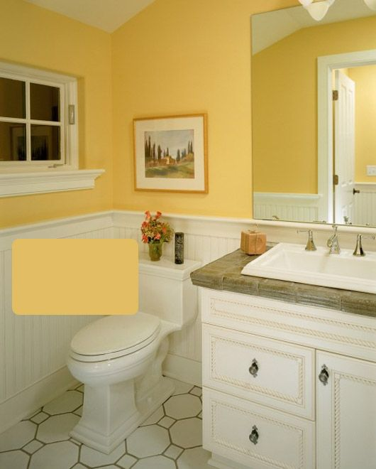 Bathroom Yellow Paint 36 best basement bathroom paint images on pinterest | bathroom