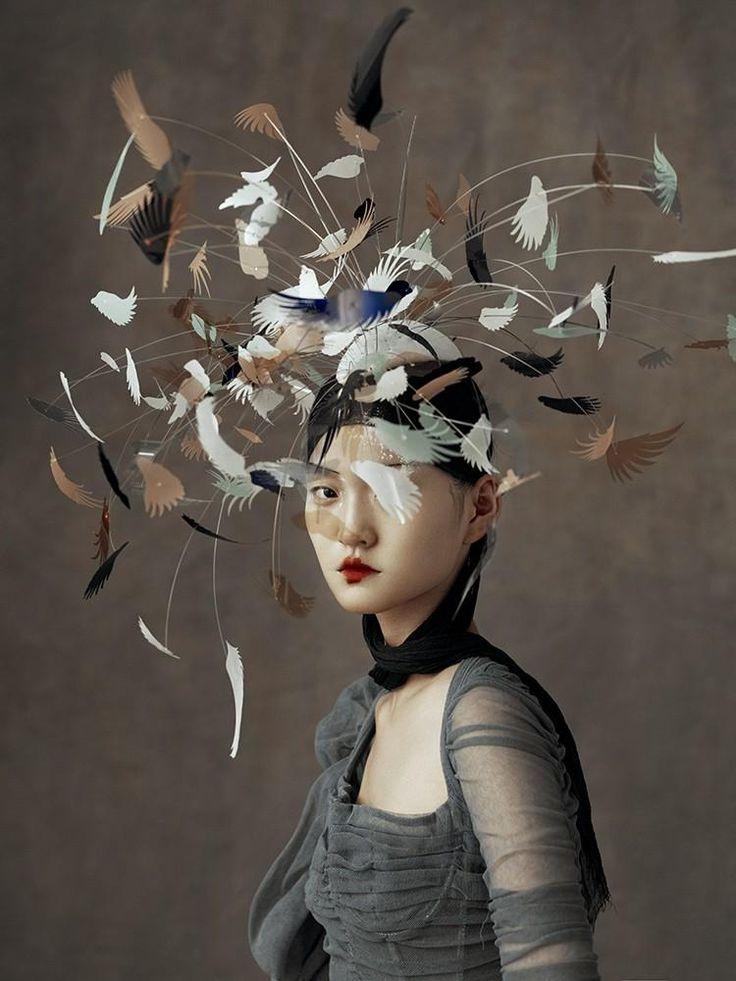 The Peking Opera: Wangy Xin Yu by Kiki Xue for Harper's Bazaar China May 2016 - Dolce&Gabbana Spring 2016