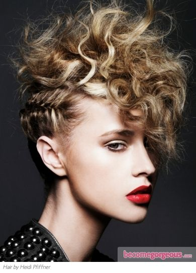 I've alwaysss wanted a mohawk for some reason! Ha totally doing this - braid mohawk