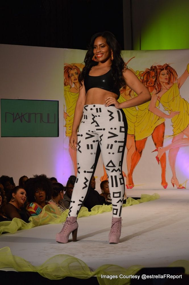 Curvy Fashionista In Dc Fashion Weeks Curvy