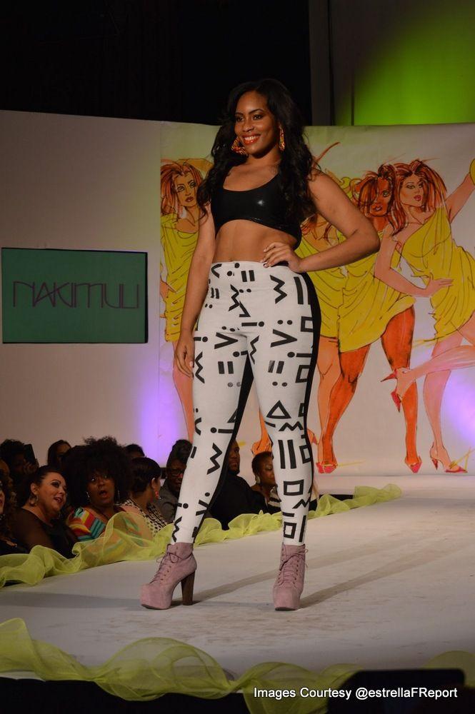 Curvy Fashionista In Dc Fashion Weeks Curvy