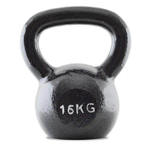 Bodymax 16kg Kettlebell Cast Iron No description (Barcode EAN = 5060125405253). http://www.comparestoreprices.co.uk/december-2016-6/bodymax-16kg-kettlebell-cast-iron.asp