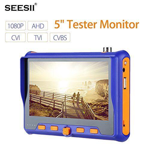 """59005""""cámara Tester Monitor TVI AHD CVI CVBS analógico herramienta de prueba entrada HDMI y VGA pantalla LCD W/BNC cable (5900) #""""cámara #Tester #Monitor #CVBS #analógico #herramienta #prueba #entrada #HDMI #pantalla #W/BNC #cable"""