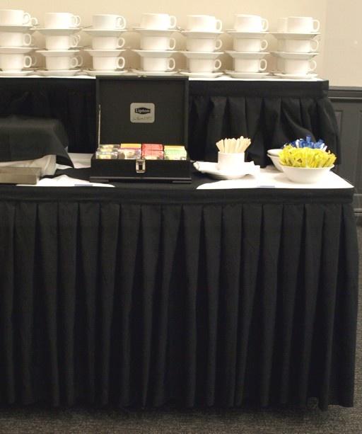 Linen Etc   Table Skirting