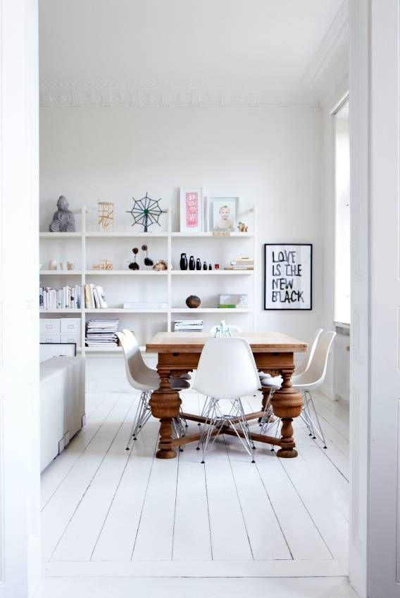 All White Interior.