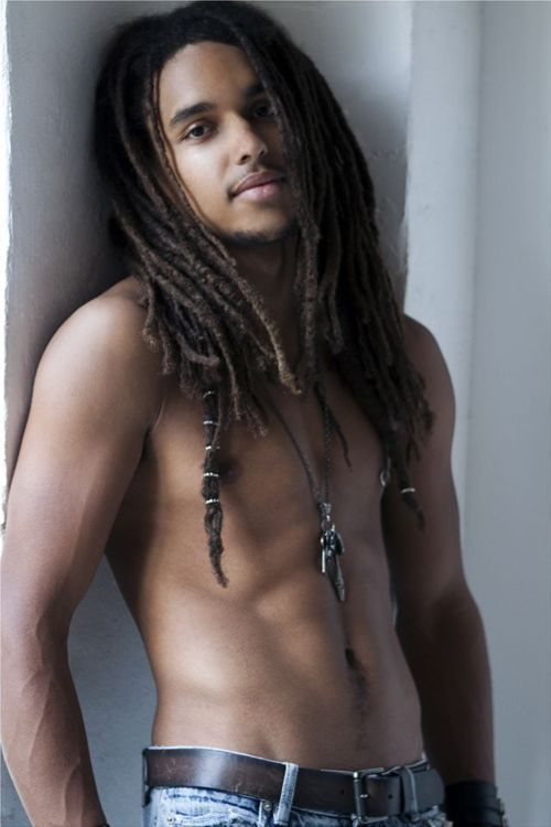 from Braeden model sexiest black male dreadlocks