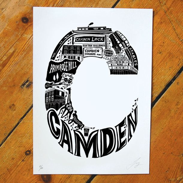 Best Of Camden Screen Print
