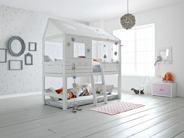 BADROOM - Letto a casetta con scala per bambini