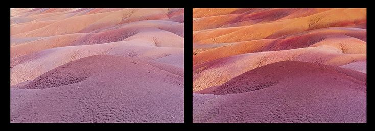 Earth Bodyscape.  Natural Abstract. Diptych by Jenny Rainbow