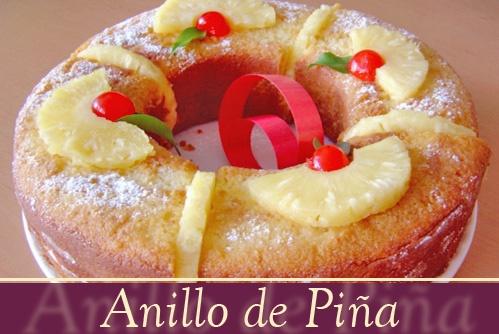 Pastel Envinado De Piña, para disfrutarse recién horneado o a temperatura ambiente.