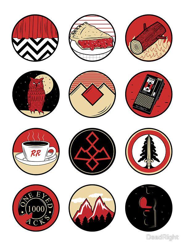 « Iconic: Twin Peaks » par DeadRight