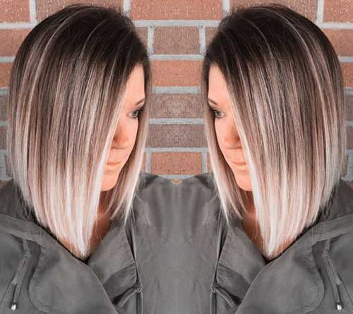 Stay in style with these Ombre Bob color hairstyles