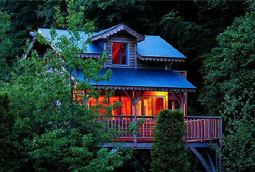 Dream Like A Child 10 Fantasy Treehouses Around The World