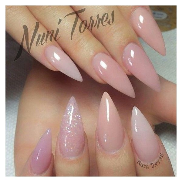 Best Nail Salons Near Me Liked On Polyvore Featuring Beauty Products And Nail Care Light Pink Acrylic Nails Nail Designs Cute Nails
