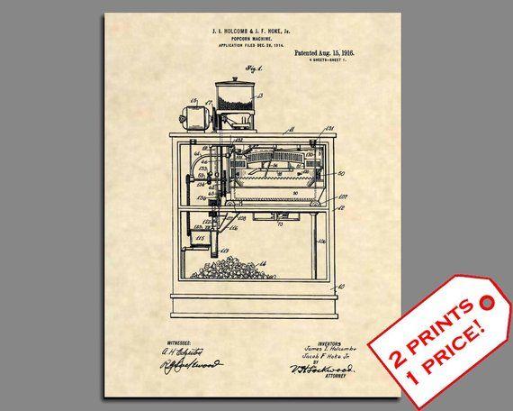 418 Official Espresso /& Cappucino Machine US Patent Art Print Krups Coffee
