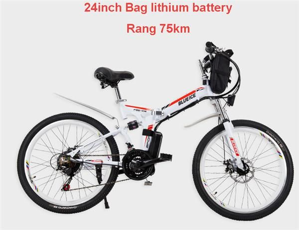 Folding State of the Art Electric Bicycle Lithium Battery Powerful 350w Smart Motor