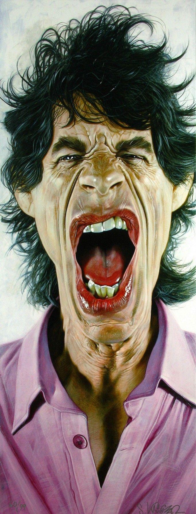 Sebastian Krüger: portraits and caricatures < Guerra Creativa