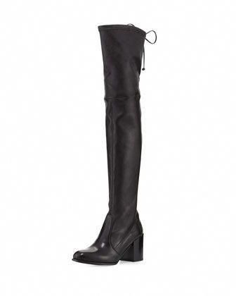 Tieland+Leather+Over-the-Knee+Boot+by+Stuart+Weitzman+at+Neiman+Marcus.   StuartWeitzman b5862b3cd69c