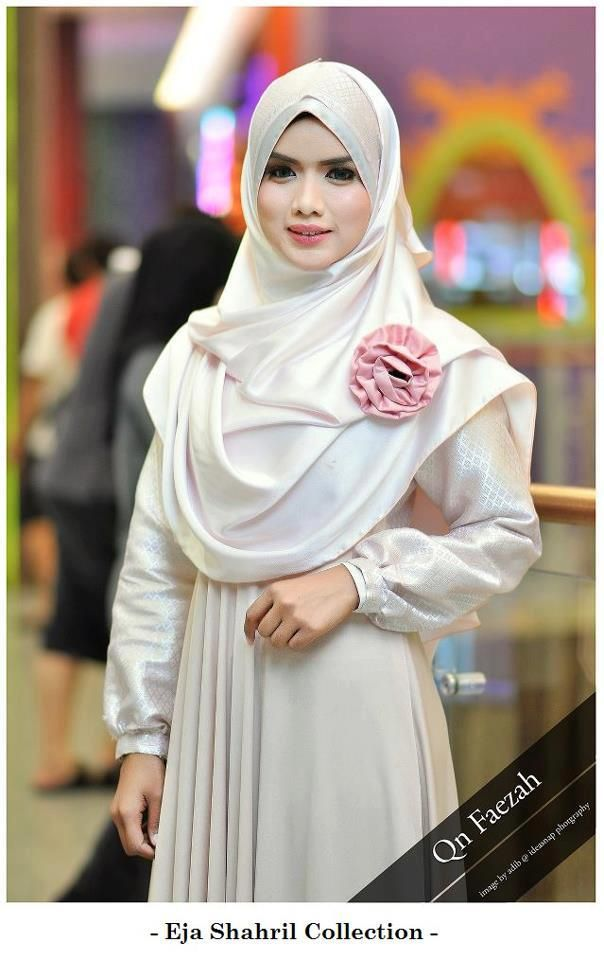 #muslim #wedding #apparel #modesty #dress #cream