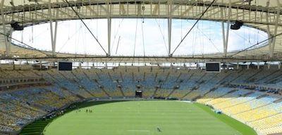 #Brasile2014: ecco da vicino il Maracana, tempio del calcio carioca, reso più sostenibile per i #Mondiali2014. http://ow.ly/wPDGq