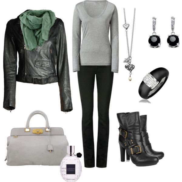 Soft gray Hard black, created by leah-strid
