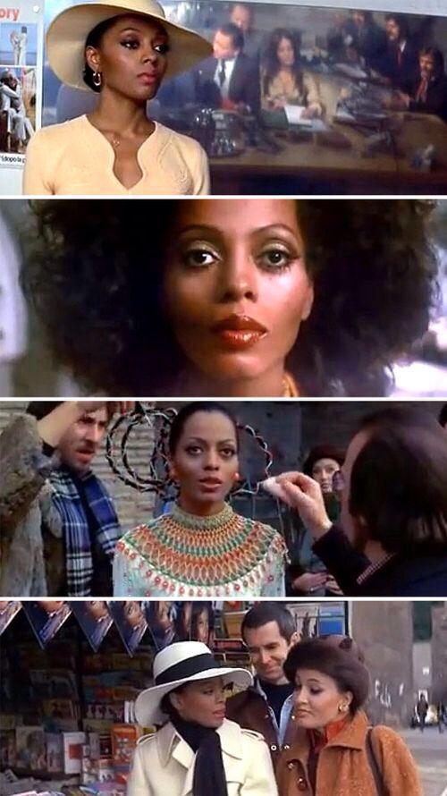 Diana Ross is Mahogony.