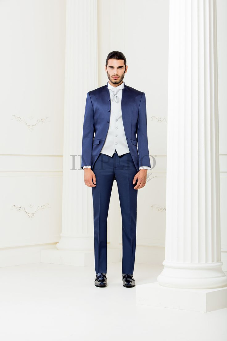 BA 2304-16  #sposo #groom #suit #abito #wedding #matrimonio #nozze #blu #blue