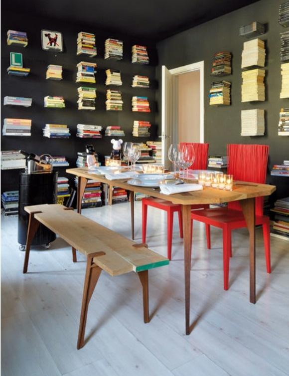 Interesting Bookshelves Bookshelf Love Pinterest