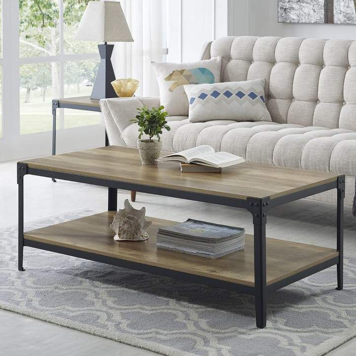 Cainsville coffee table set in 2020 wood coffee table