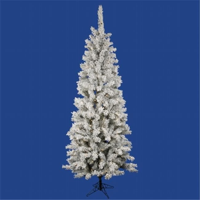 15++ Flocked christmas tree with white lights ideas in 2021