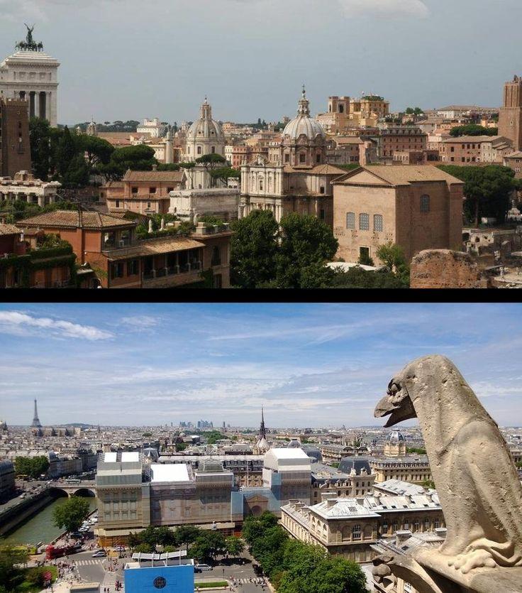 Weet jij welke steden bij deze uitzichten horen? (Er zijn wel een paar hints in de plaatjes te vinden ;))