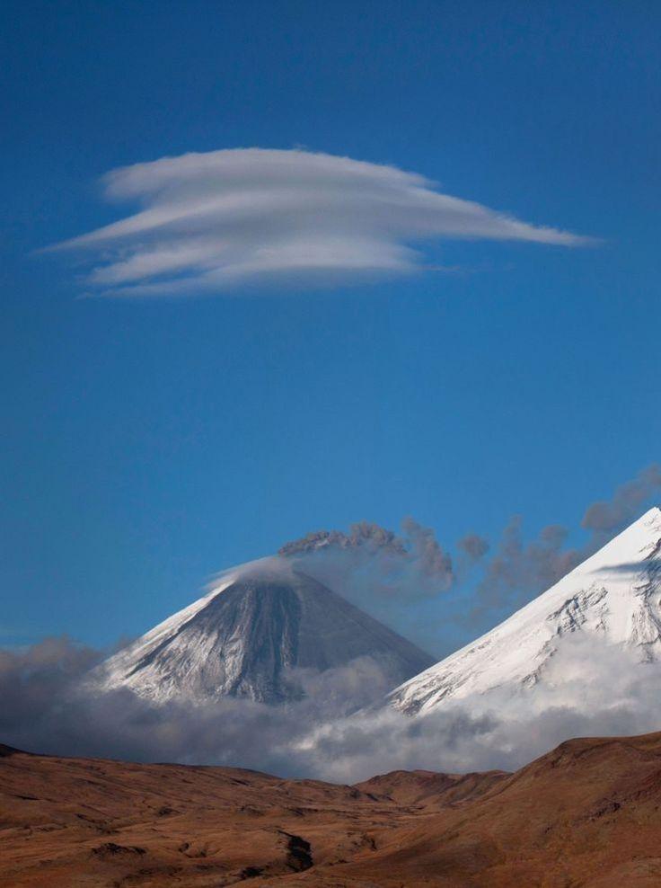 Volcanos of Kamchatka, Siberia, Russia.
