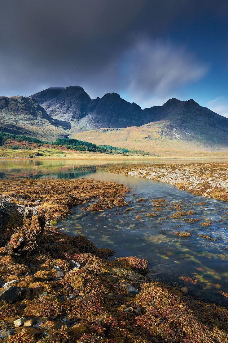 Bla Bheinn (Blaven), Loch Slapin, Torrin, Isle of Skye, Hebrides, Highlands, Scotland by Ian Hex of LightSweep