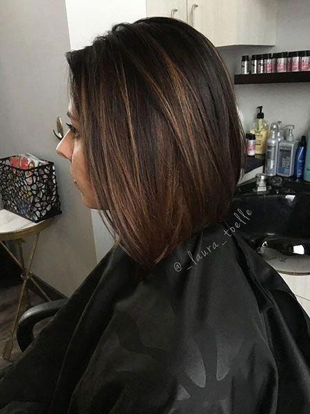 30 Short Dark Brown Hairstyles   The Best Short Hairstyles for Women 2017 – 2018…