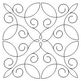 Geeky image pertaining to printable free motion quilting templates