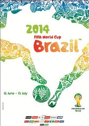 Poster of Brazil World Cup 2014