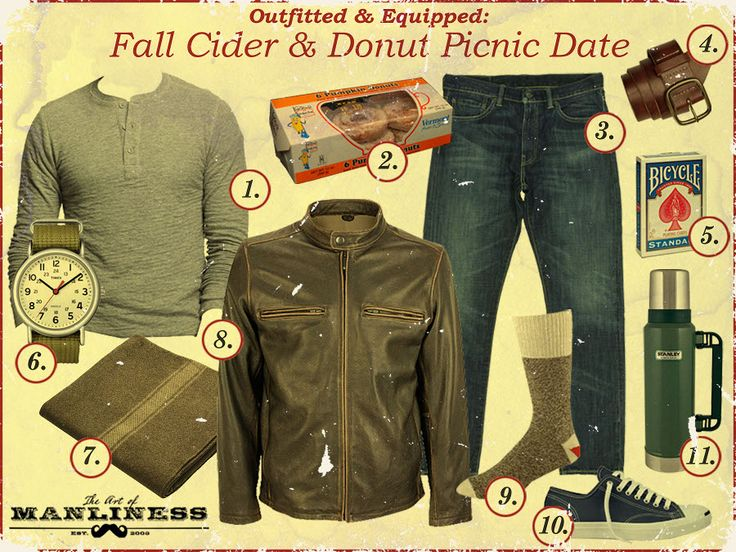 Outfitted & Equipped: Fall Cider & Donut Picnic Date (via @Art of Manliness)