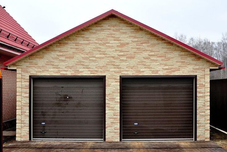 Проекты гаражей на 2 машины - фото и цены, стоимость строительства. Проект гаража на две машины с пристройкой, с навесом, с мансардой и с баней - возможно любое перепроектирование.  http://www.metgar.ru/pokupka/garage-2/