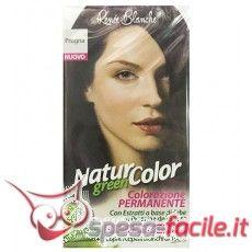RENÉE BLANCHE NATUR COLOR PRUGNA Colorazione Capelli Renée Blanche Prugna a base di Erbe e Proteine della Seta. Colori più luminosi e naturali. Copre i capelli bianchi al 100%  Astuccio contenente: 1 Flacone Natur Green Color 55 ml 1 Flacone Doxi Sviluppatore 55 ml 1 Bustina di Rivitalizzante 10 ml 1 Paio di guanti 1 Depliant istruzioni  http://www.spesa-facile.it/cura-dei-capelli/colorazione-capelli-donna