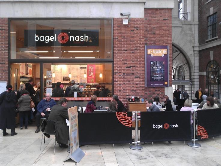 Bagel Nash Leeds: does the best frozen yoghurt
